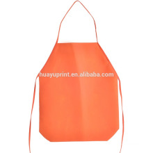 Disposable non-woven apron DIY customization can be printed LOGO