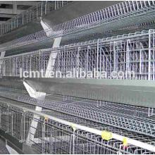 3 et 4 niveaux A cages de poulet de type couche