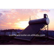 Changzhou-compacto no presurizado calentador de agua solar
