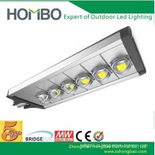 Carcaça da lâmpada de alumínio de 240w 270w conduziu a luz clara da rua IP65 Bridgelux conduziu a luz de rua