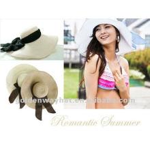 Sombrero del verano del papel de las señoras de la manera para la boda