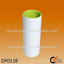 Jarrones de cerámica coloreados al por mayor directos de la fábrica