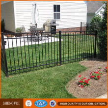 Short Wrought Iron Yard Guard Fencing