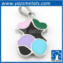 customize design pendant, custom made colorful dog tag