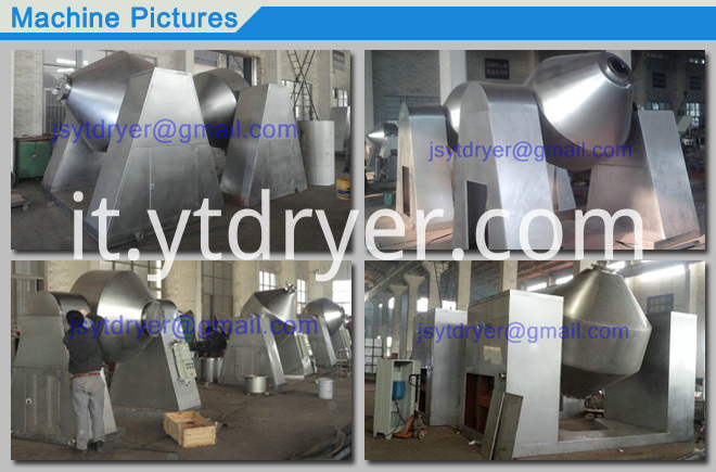 Double Cone Rotary Vacuum Dryer/SZG