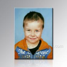 Pintura Handmade do retrato da criança (PT-008)