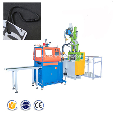 Plast String Seal Hang Tags Injiceringsmoulding Machine