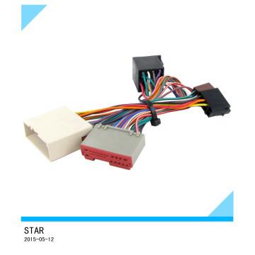 Coche de alta calidad del conector del arnés de cableado ISO del adaptador de cable de radio Ford