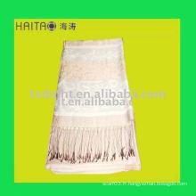 Echarpe en soie à la mode pour jeune femme favorise avec 70% d'acrylique et 30% de mélange de soie