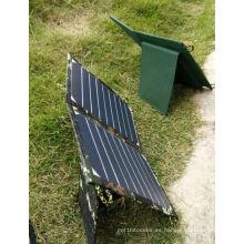 Cargador de energía solar móvil