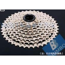 11-40/42т горный велосипед кассеты черный/белый цвет модели Csms3