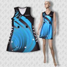2015 más reciente vestido de sublimación Netball