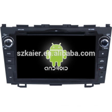 Android 4.4 Mirror-link Glonass / GPS 1080P dual core multimedia central para Honda CRV antiguo con GPS / Bluetooth / TV / 3G