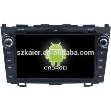Android 4.4 Espelho-link Glonass / GPS 1080 P dual core multimídia carro central para Honda velho CRV com GPS / Bluetooth / TV / 3G
