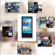 Máquina de publicidade tipo armário de toque (Android)