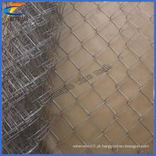Esporte Galvanizado Diamond Chain Link Wire Mesh