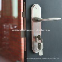 Cerraduras de puerta materiales de la entrada del acero inoxidable 2105 de alta calidad con la placa