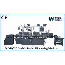 Morrer a máquina de corte com dupla estação (WJMQ-350)