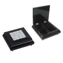 Black Wooden Jewelry Box for Decoration (628037)