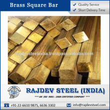 Easy Cutting Brass Square Bar in Wide Range of Shape and Size