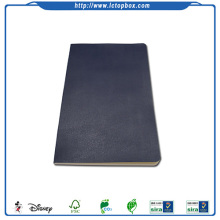 Leather cover school exercise book