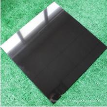 Telha de assoalho cerâmica porcelana telha preto branco super