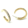 Good Quality Jewelry for Woman 3A White CZ 925 Silver Earring (E6495)