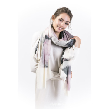 Blackpink-90%Modal&10%Cashmere Ladies Scarf