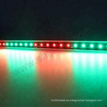 Muti color llevó el trazador de líneas ligero de la barra dmx rgb llevó la tira 5050