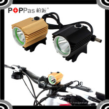 2015 YZL864 Waterproof 600lm 1 * T6 LED avec 4 * 18650 Batterie Front Light of Bicycle