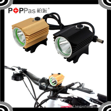 2015 YZL864 Waterproof 600lm 1*T6 LED with 4*18650 Battery Front Light of Bicycle