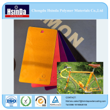 Hot Sales Bright Candy Effect Color Spray Powder Coating for Bicycle Parts