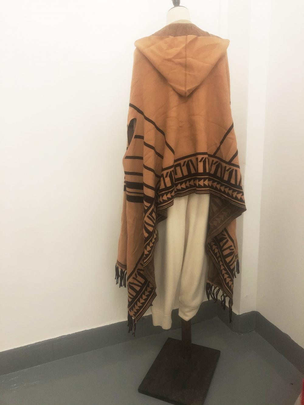 Knit Blanket Scarf