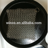 2016 HOT selling Cast Iron Cleaner Chainmail Scrubber