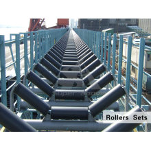Enclosed Fixed Small Size Sand Roller Belt Conveyor