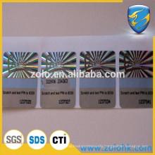 manufacturer for custom tamper proof 3D hologram sticker