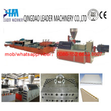 PVC Wide Door Plate Extrusion Machine