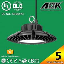 115-130lm/W UFO 100W 120W 150W High Bays Dlc UL SAA Ce with Meanwell Driver