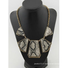 2013 Collier en forme de bijoux Vente en gros Collier massif avec motif de serpent FN71