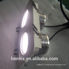 220v/110v 80ra rectangular 8 inch led downlight