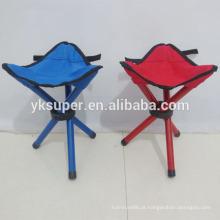 Nova cadeira de pesca ao ar livre cadeira portátil dobrável de 3 pernas