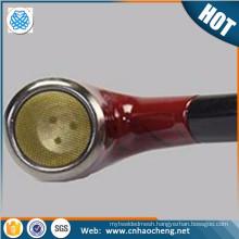 smoking pipe filter wire mesh / brass pipe screens / smoking pipe screen