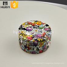 wholesale custom made aluminium cosmetics cream empty jar
