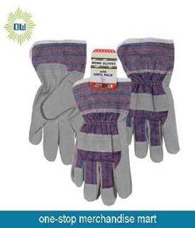 G290 Garden leather gloves