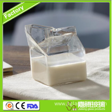Glass Material Lead-Free Milk Beverage Jar