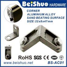 Esquina de aluminio de 90 grados con alta calidad