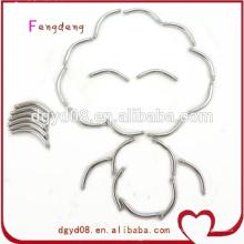 Barra plástica de la barra de la joyería de la perforación del cuerpo del acero inoxidable con un precio más bajo