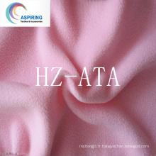 100% Polyester 280GSM FDY Polar Fleece Fabric