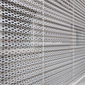Lembaran Logam Perforated Architectural Screenwall