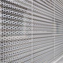 Архитектурный перфорированный металлический листовой экран